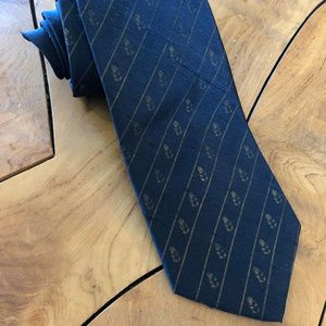 1970 Western Union Telegraph Company Silk Neck Tie